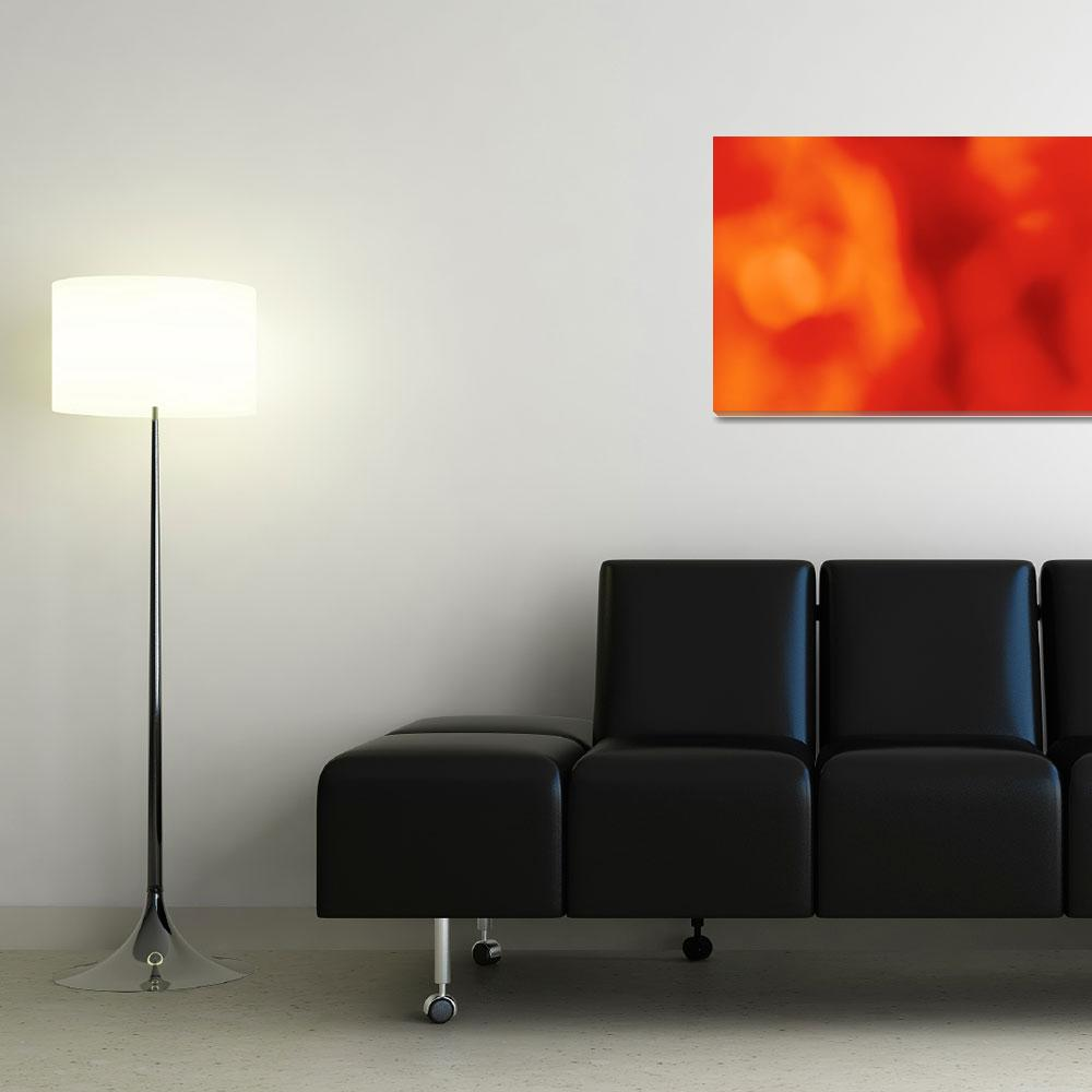 """Orange abstract&quot  (2012) by gavila"