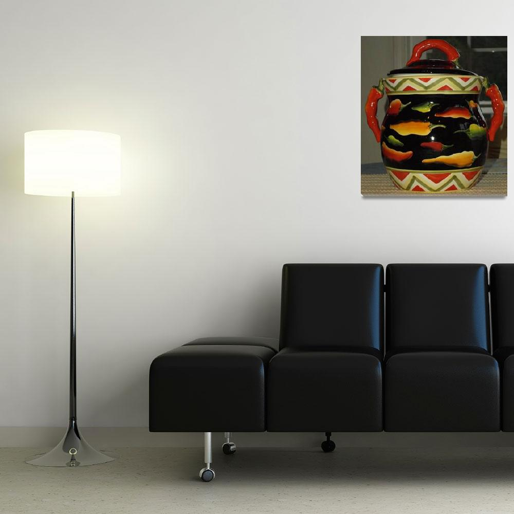"""""""Colorful peppers&quot  (2011) by rondascreationds"""