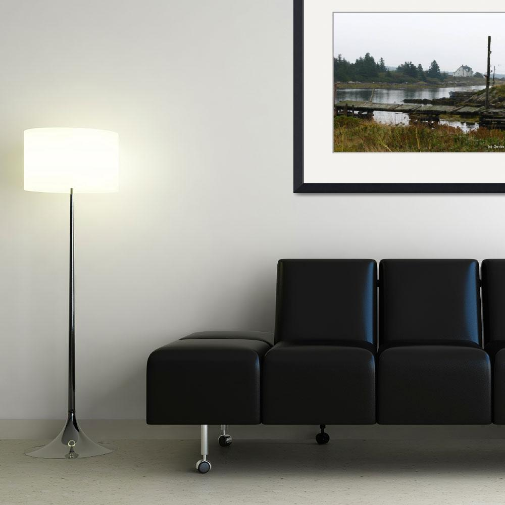 """""""Canso Jetty 3107""""  (2010) by davies"""