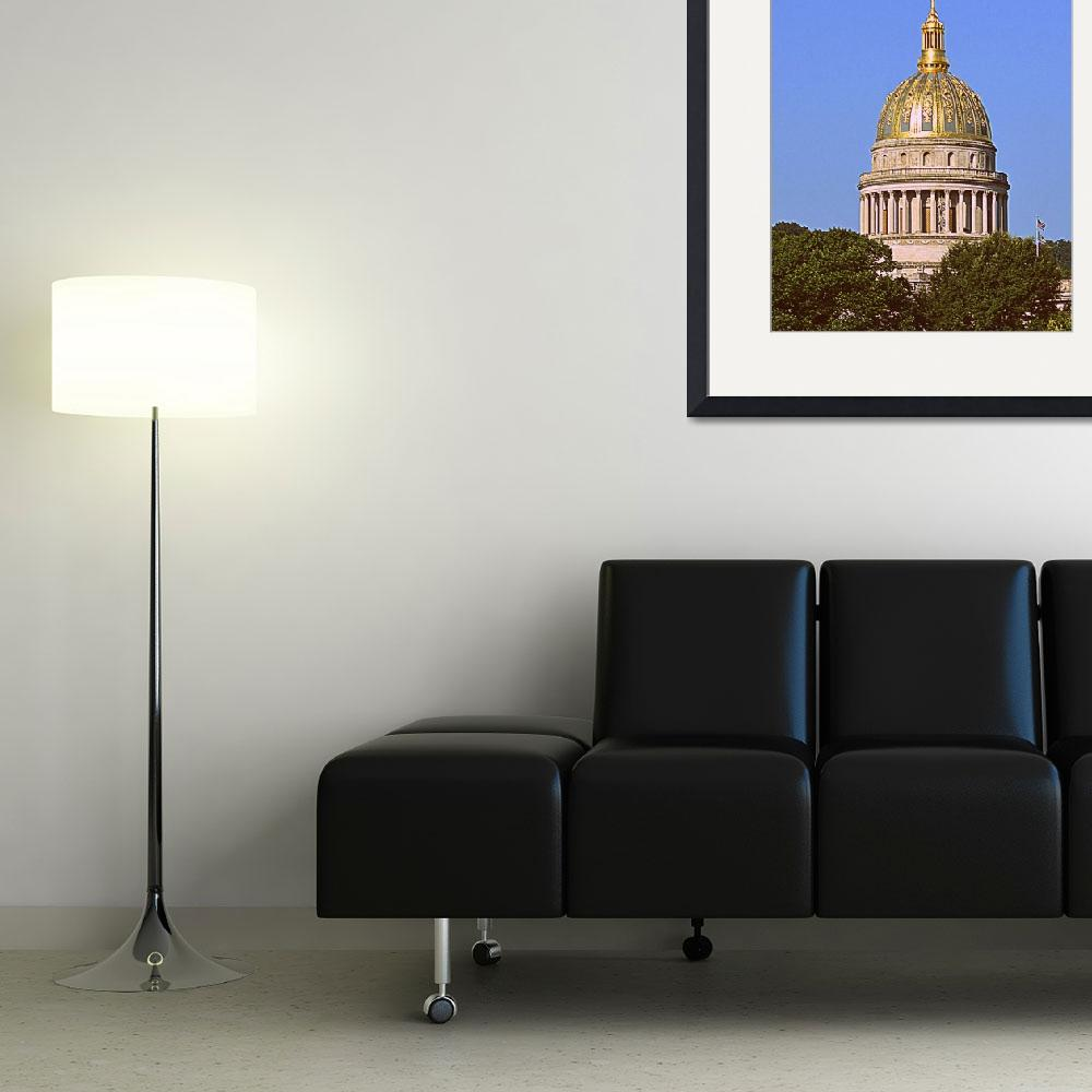 """""""Charleston WV Capital Dome&quot  by Artsart"""
