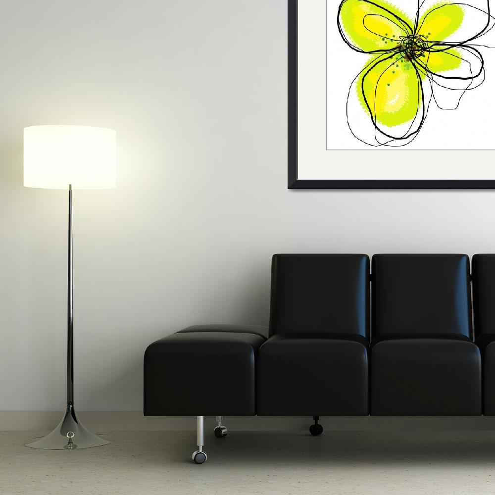 """""""Yellow Petals 1&quot  (2009) by TuesdayMoon"""