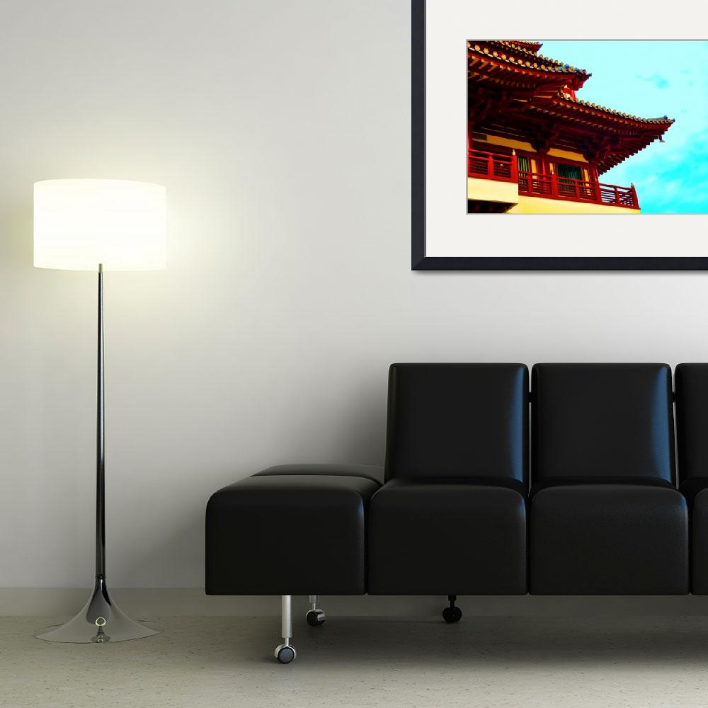 """""""Chinese Temple&quot  (2011) by TravelandBeyond"""
