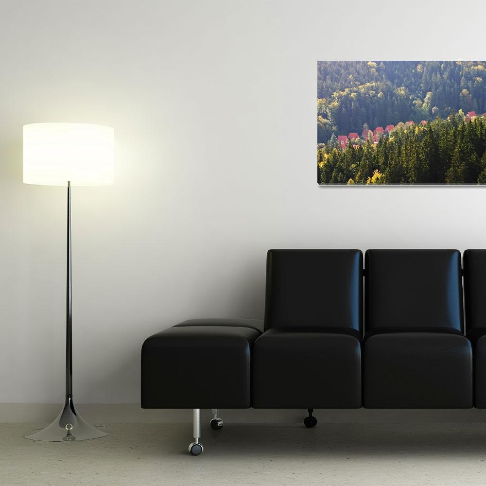 """""""A View From The Krusne """"Ore"""" Mountains&quot  (2009) by picturesbybgale"""