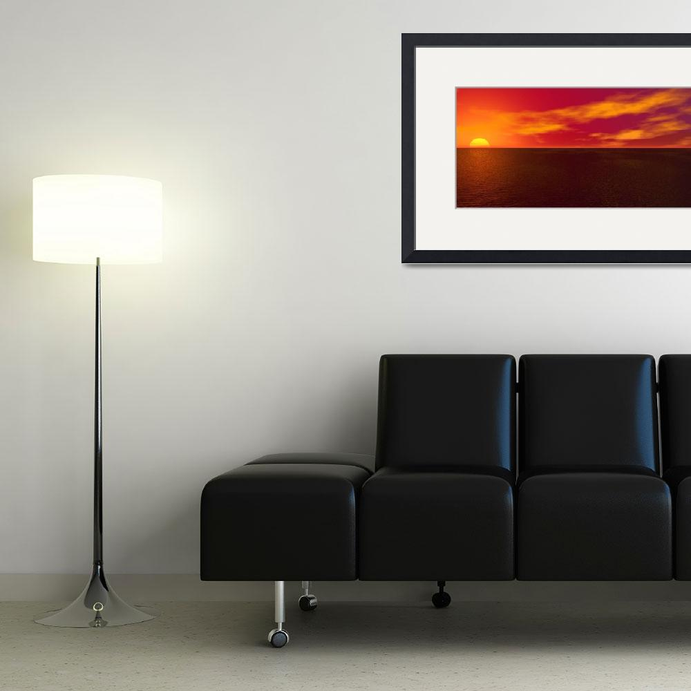 """""""sunset&quot  (2010) by williamballester"""