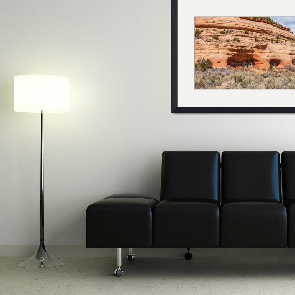 """Modern Sandstone Cave Home - Utah&quot  by ultimateplaces"