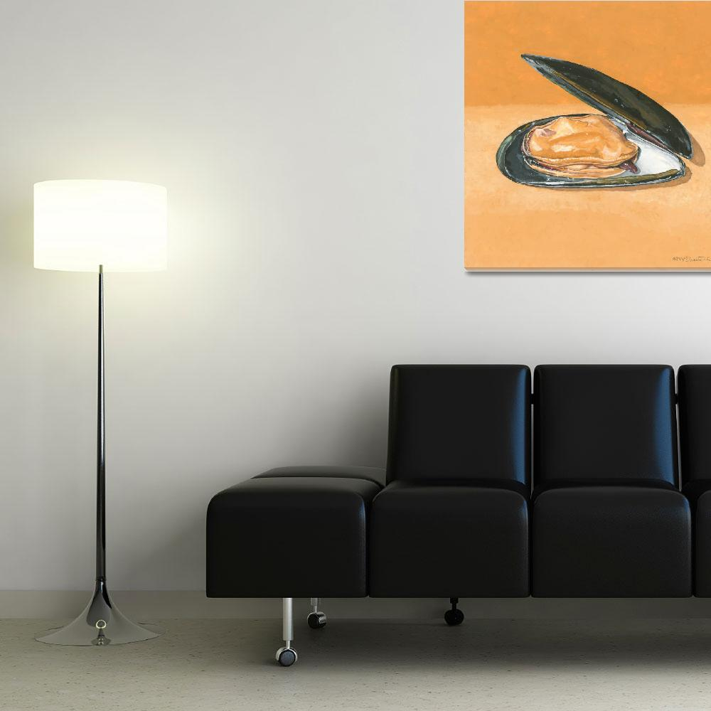 """""""Open Mussel&quot  (2009) by dominicwhite"""