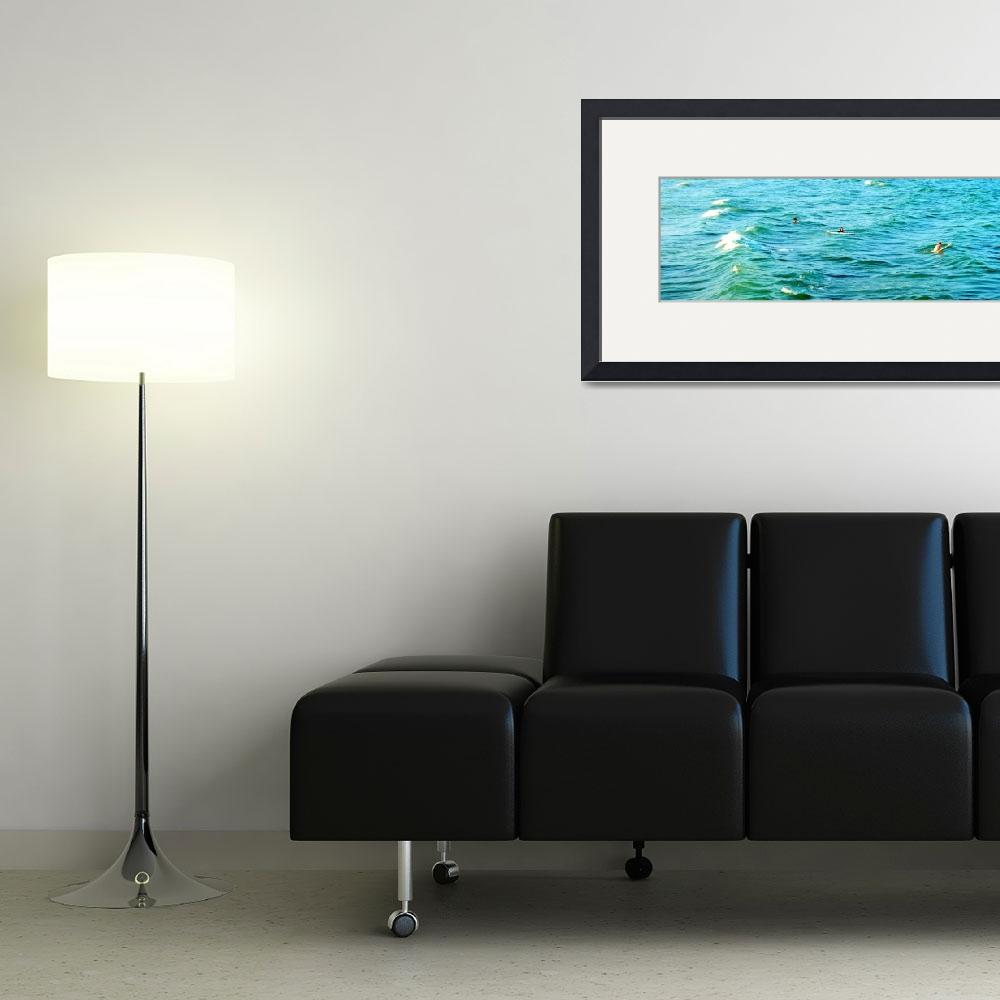 """""""Catching Waves&quot  (2012) by LauraD"""