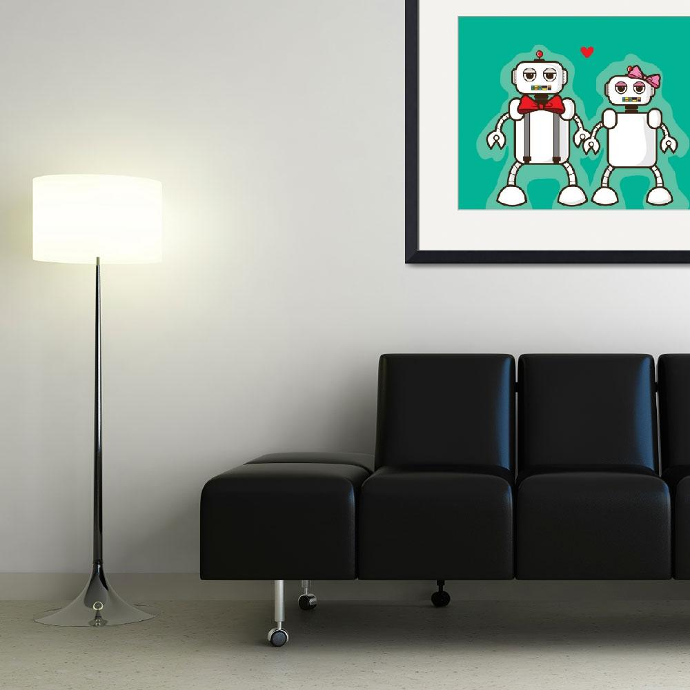 """Love Bots!&quot  (2012) by design323"