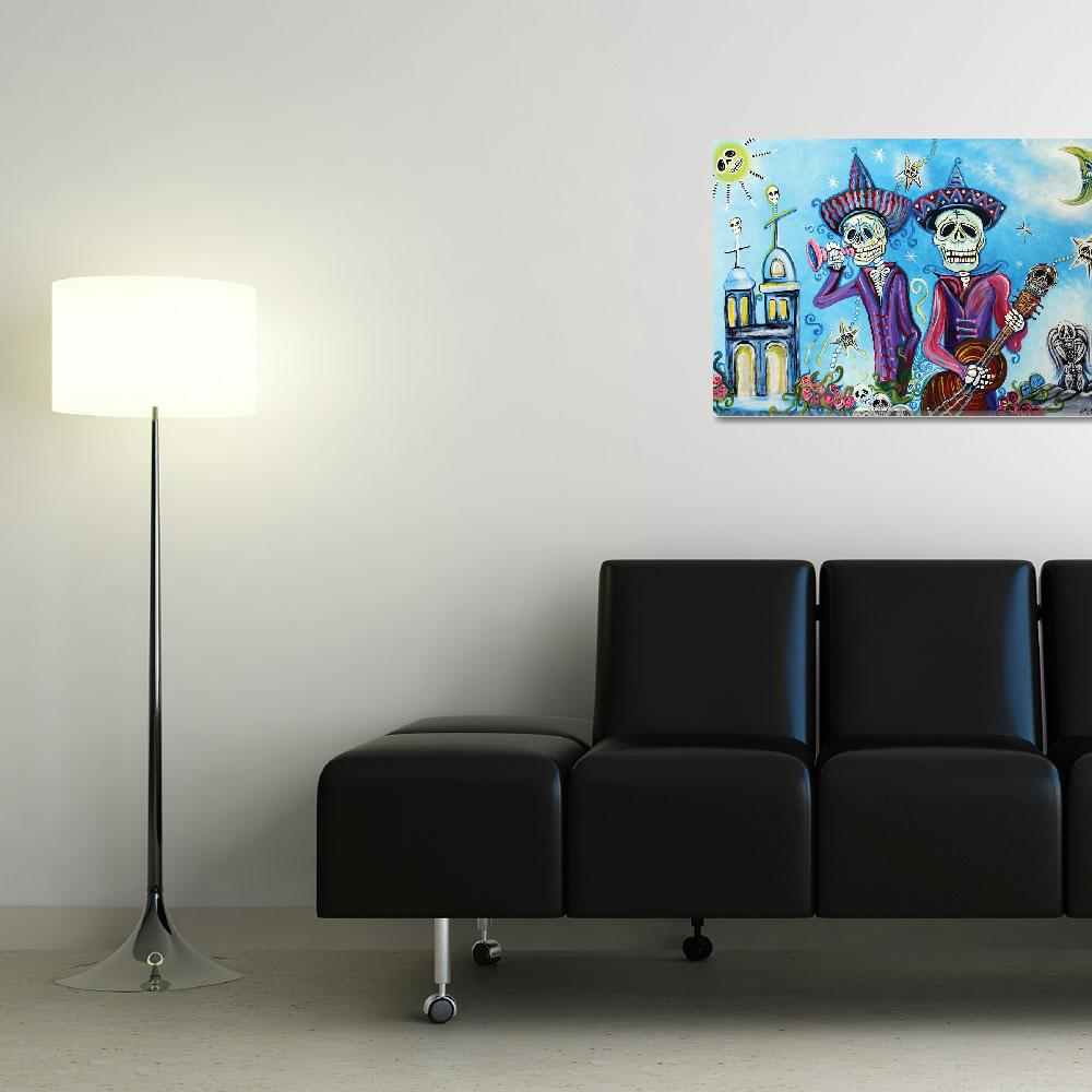 """Secrets Of The Mariachi&quot  (2012) by ArtPrints"
