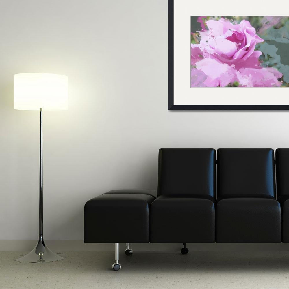 """""""ORL-3394 Fresh pink flower""""  by Aneri"""