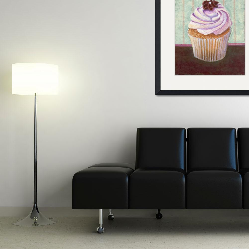 """""""Champagne Chic Cupcake&quot  (2013) by marcosivieri"""