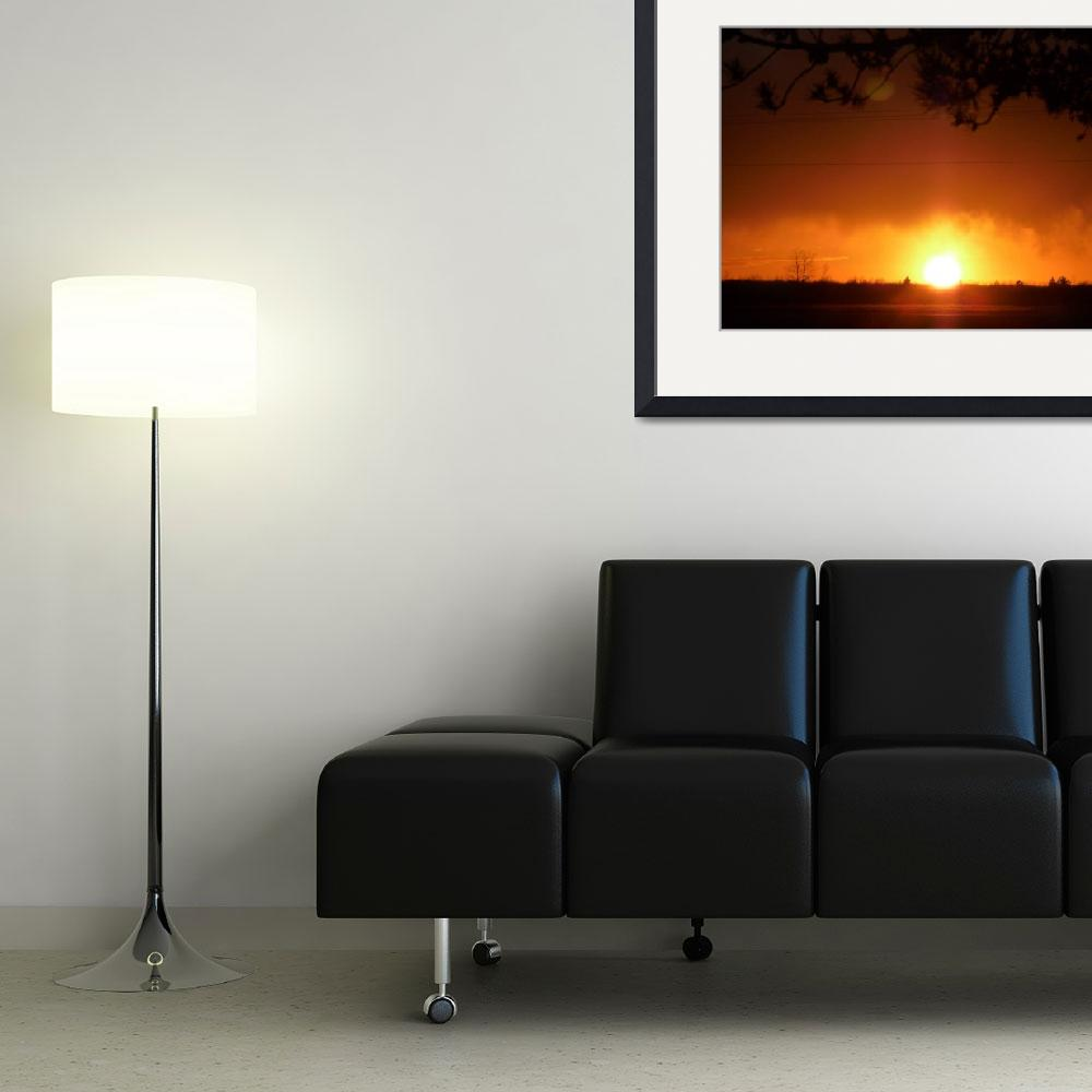 """""""Autumn Sunset""""  (2009) by LUCILLE"""