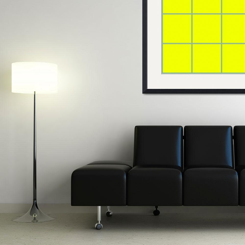 """""""Yellow Window 111 Canvas Contemporary Modern&quot  (2010) by Ricardos"""