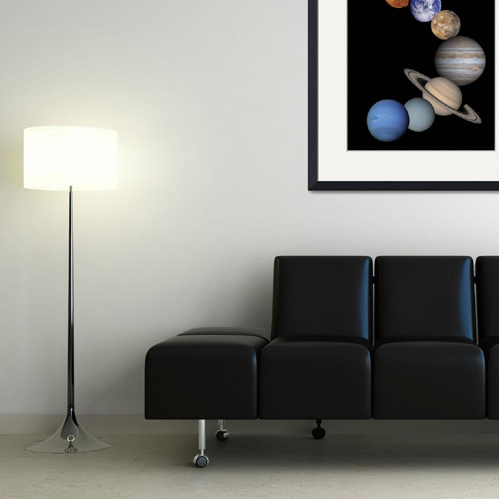 """""""Solar System Planets&quot  by ArtLoversOnline"""