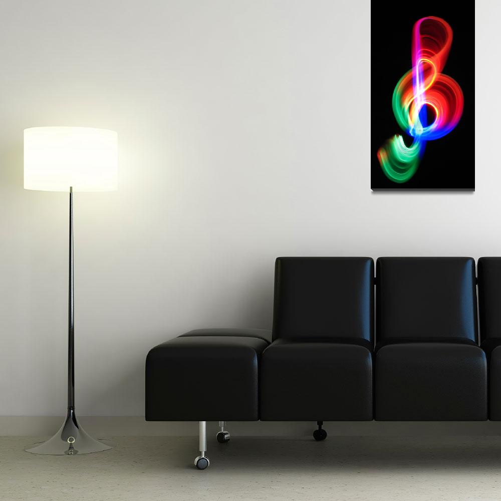 """""""Colorful G clef""""  (2006) by ASKh_"""