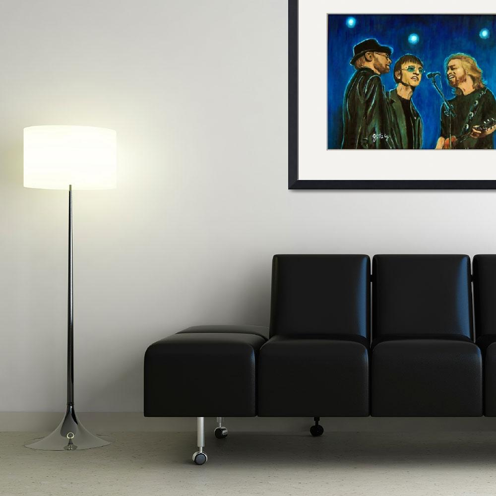 """""""Bee Gees&quot  (2012) by paintingsbygretzky"""