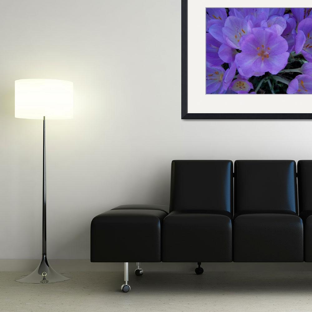 """""""Blue Flowers&quot  (2007) by pvcslc"""