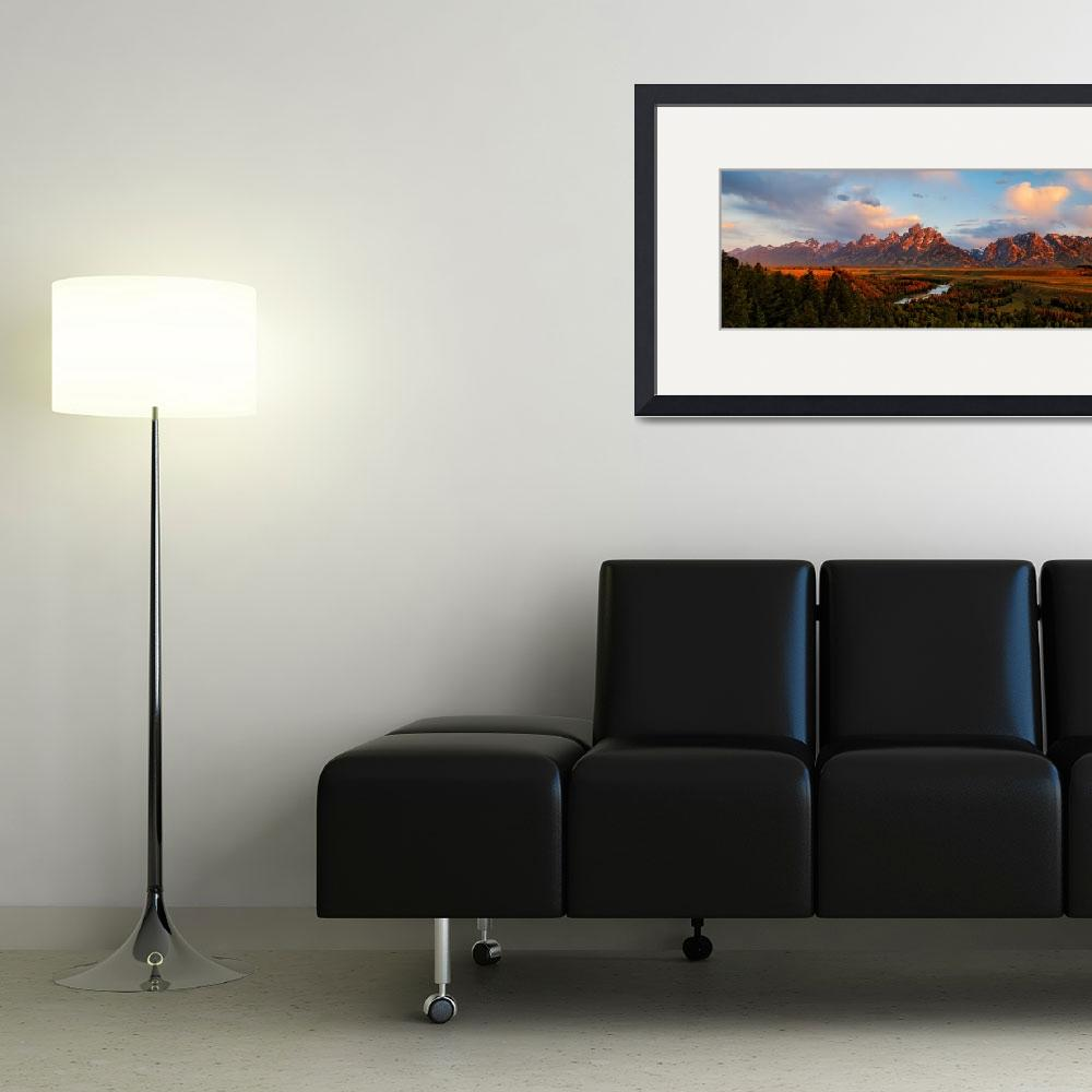 """""""Snake River Overlook&quot  (2007) by bbauwens"""