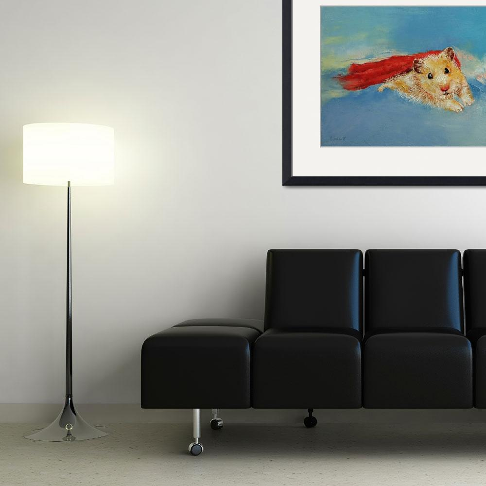 """""""Hamster Superhero&quot  by creese"""