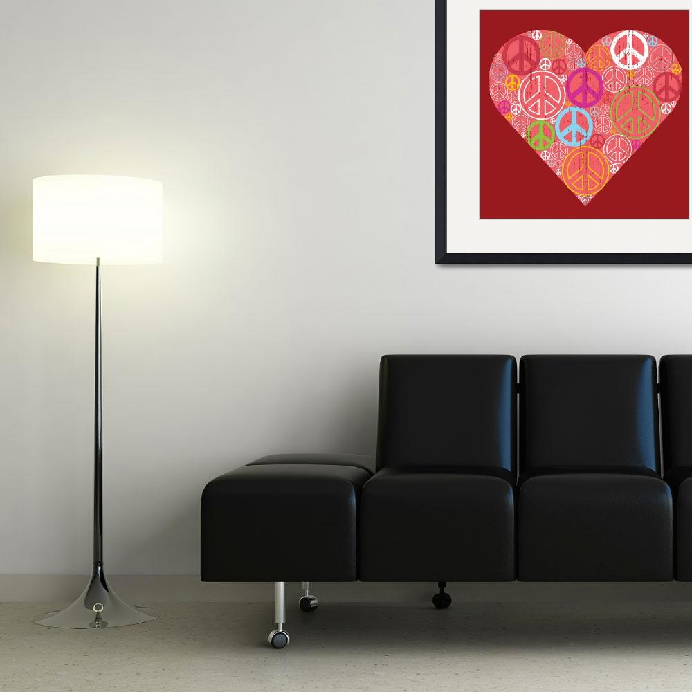 """""""PEACE IN MY HEART&quot  (2008) by icreate"""
