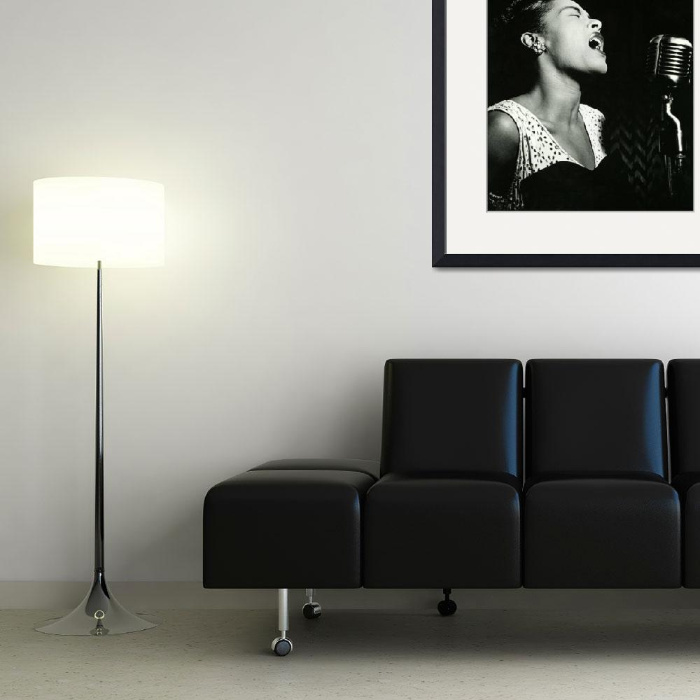 """""""Billie Holiday&quot  by RetroImagesArchive"""