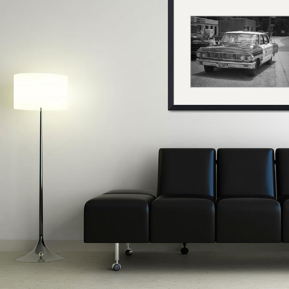 """""""Old Police Car&quot  (2009) by lmain"""