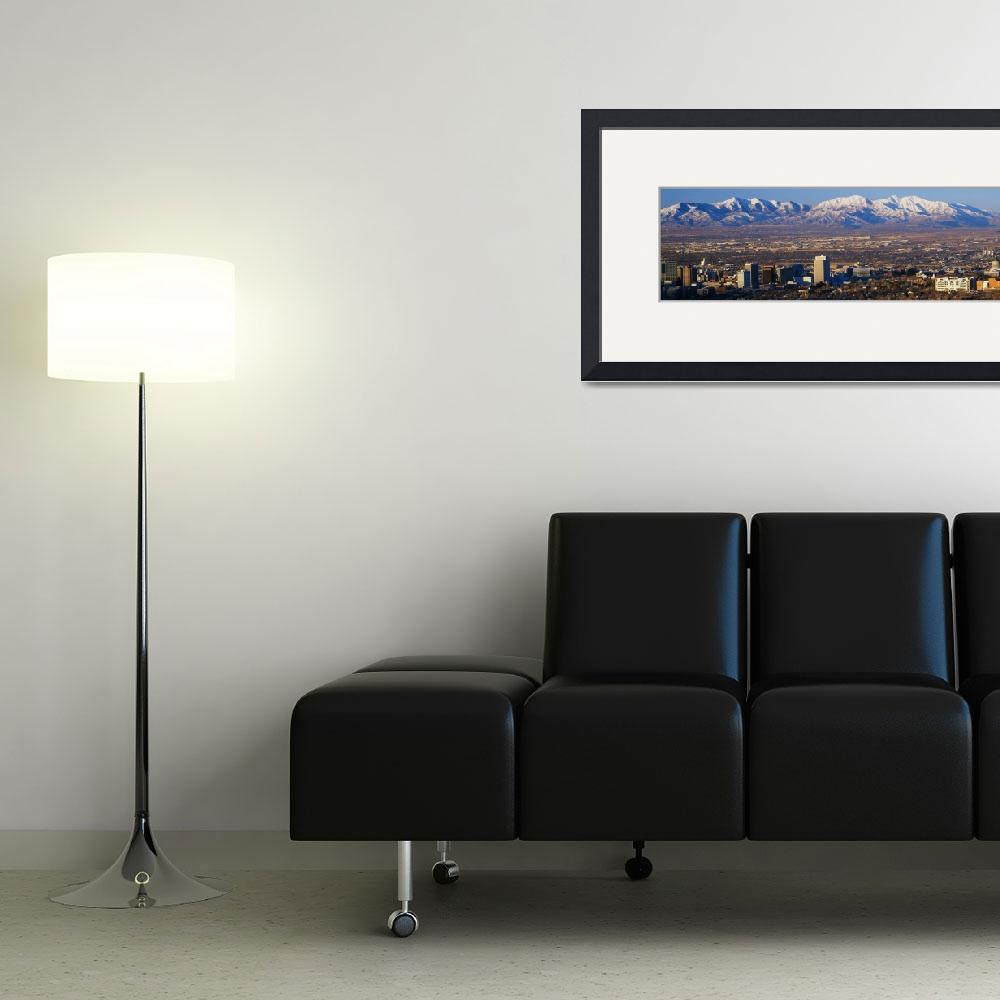 """""""Salt Lake City UT&quot  by Panoramic_Images"""