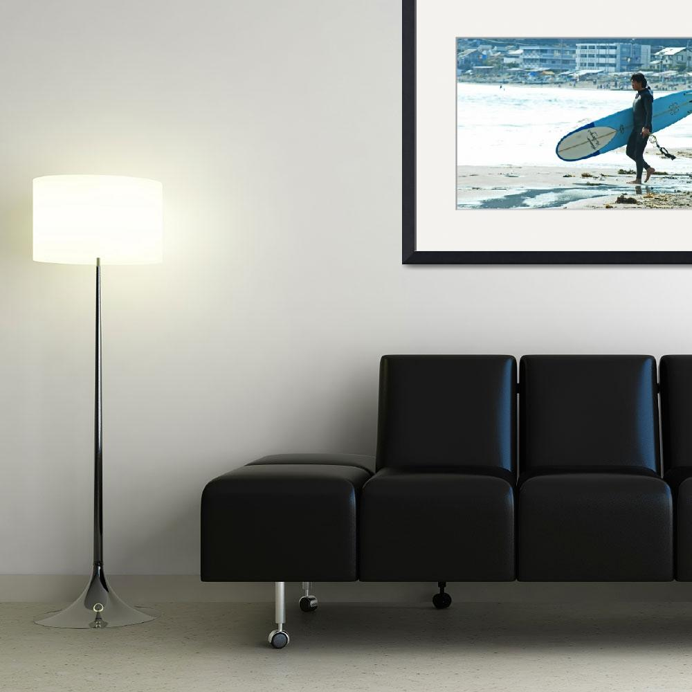 """""""The Surfer&quot  by sneddig"""