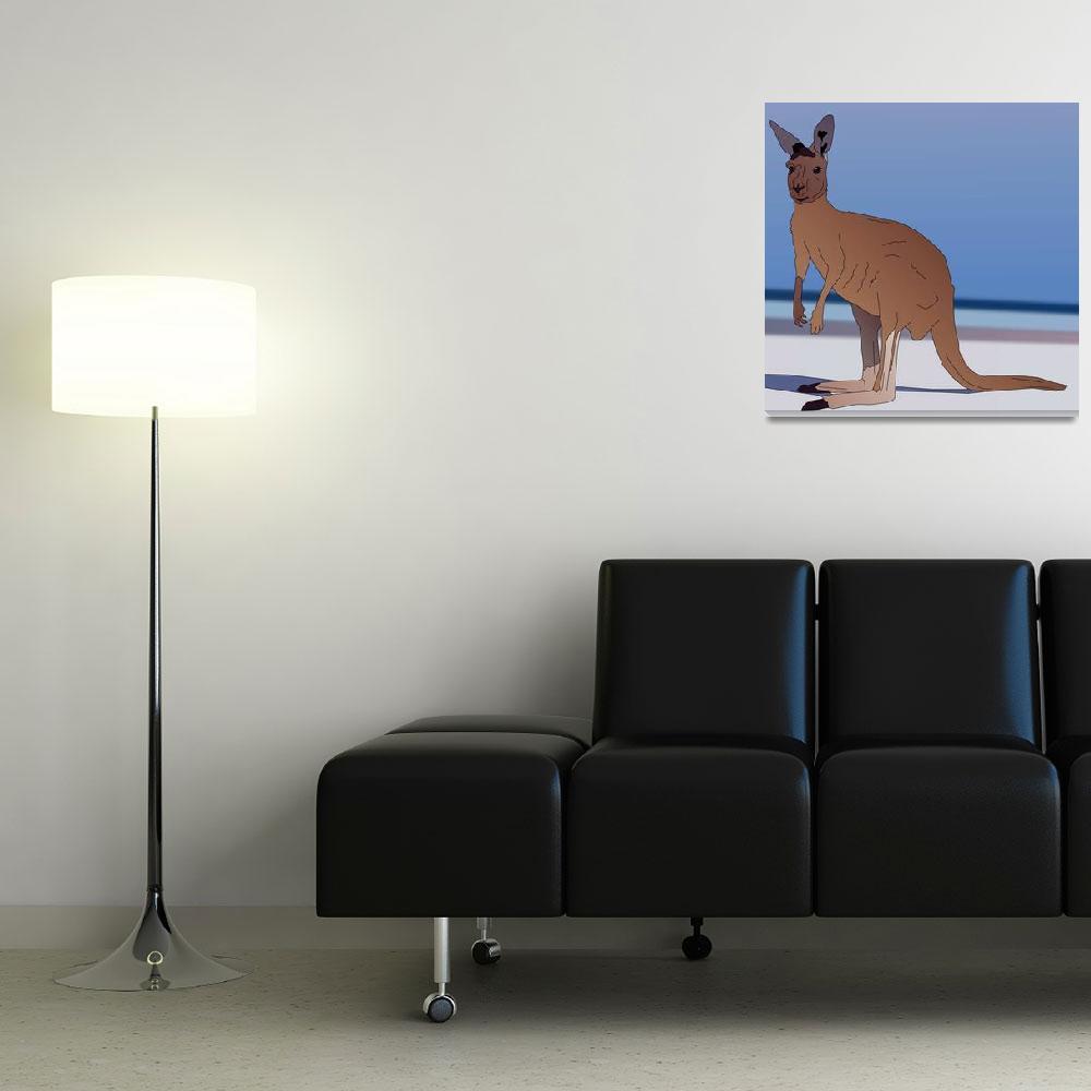 """""""Kangaroo For Australia""""  (2012) by Casino"""