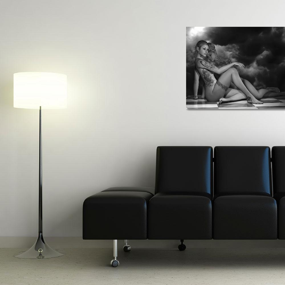 """""""Dual Provocative (BW)""""  (2012) by AlexButler"""