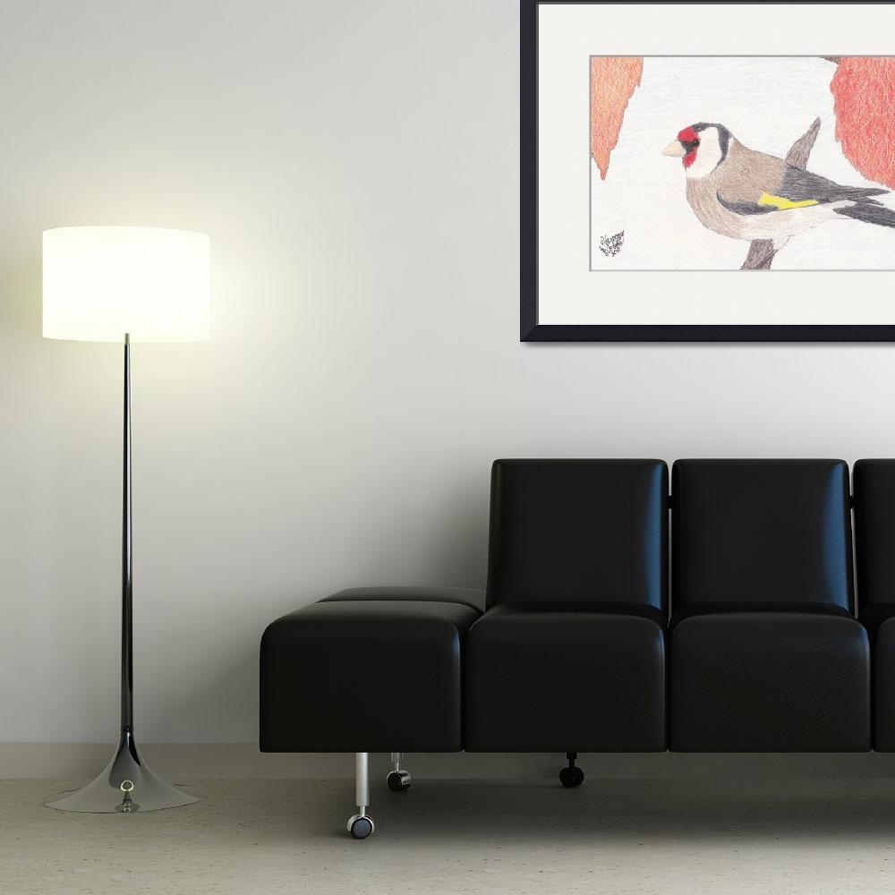 """""""European Goldfinch""""  (2010) by HarmonicNature"""