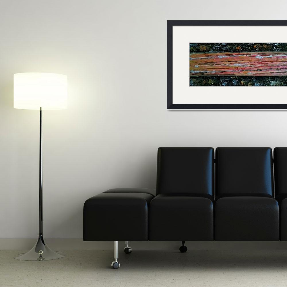 """""""A Ray of Light Textured Acrylic  3&quot  by annettajrynaolcom"""
