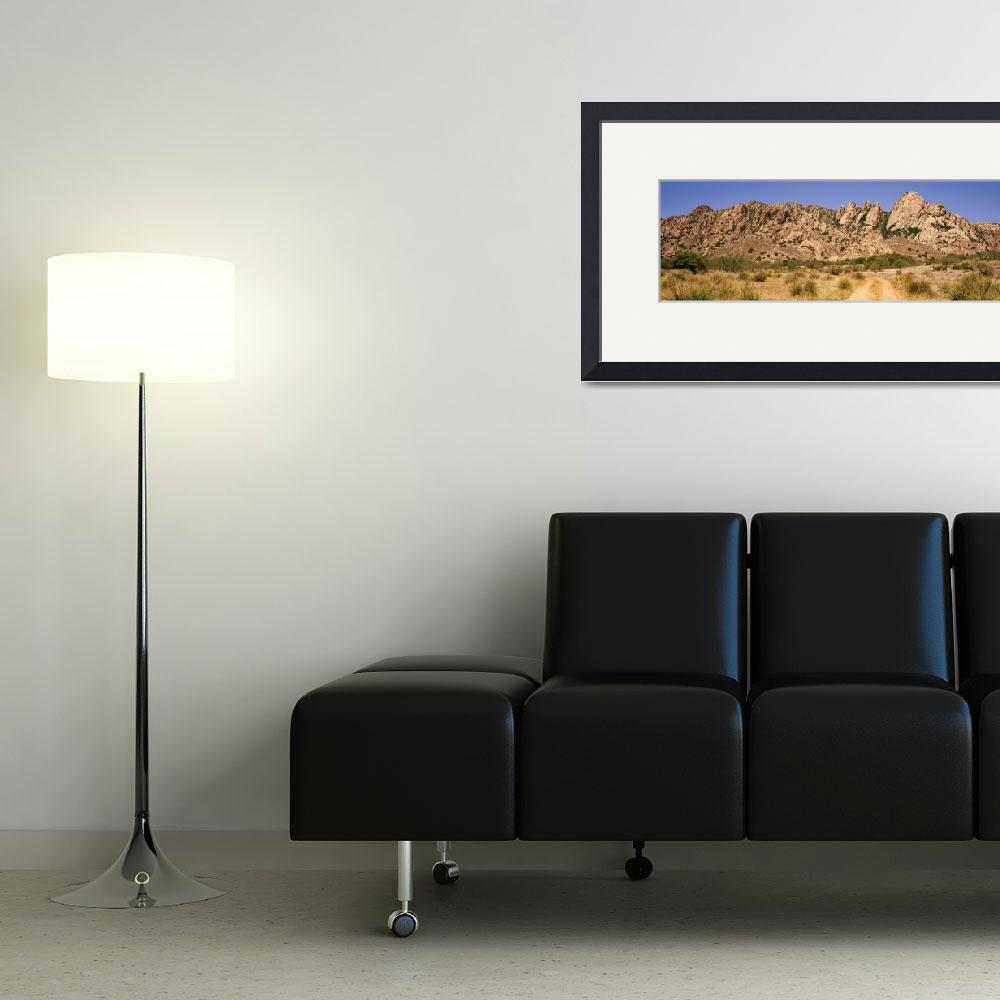 """Dragoon Mountains Southeast AZ&quot  by Panoramic_Images"