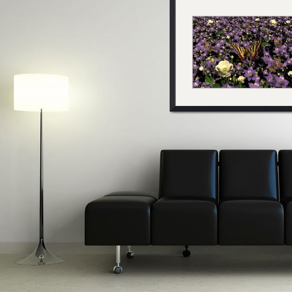 """""""Bell Flowers&quot  (2008) by shoop3D"""