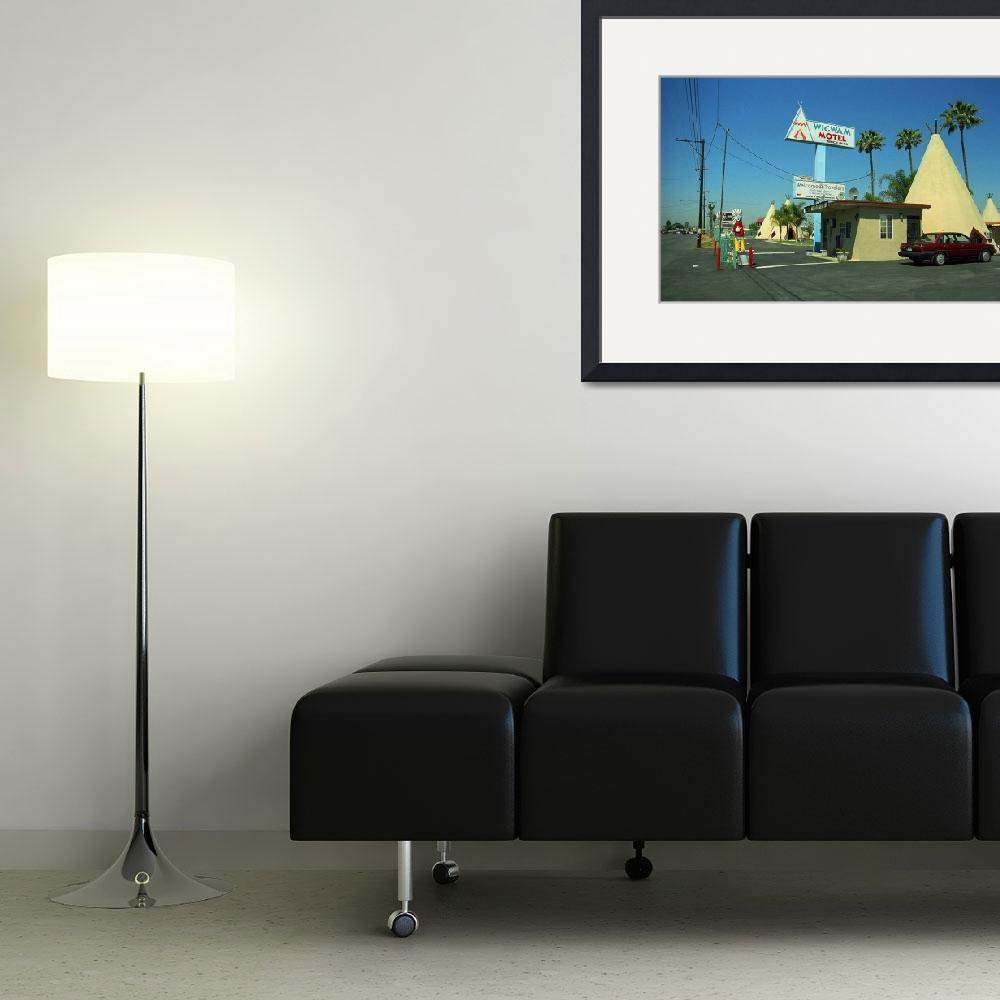 """""""Route 66 - Wigwam Motel""""  (2007) by Ffooter"""