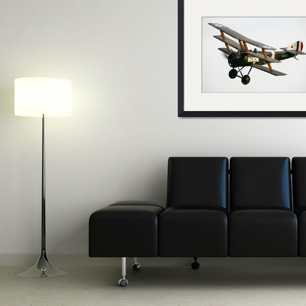 """""""The Shuttleworth Collection Tri-Plane&quot  by DestinysAgent"""