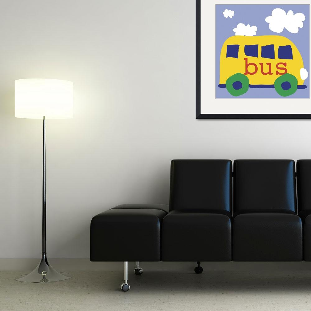 """Yellow School Bus""  by artlicensing"