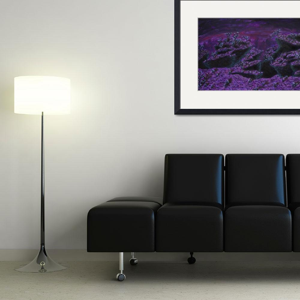 """""""Desolate Amethyst&quot  (2011) by Linas"""