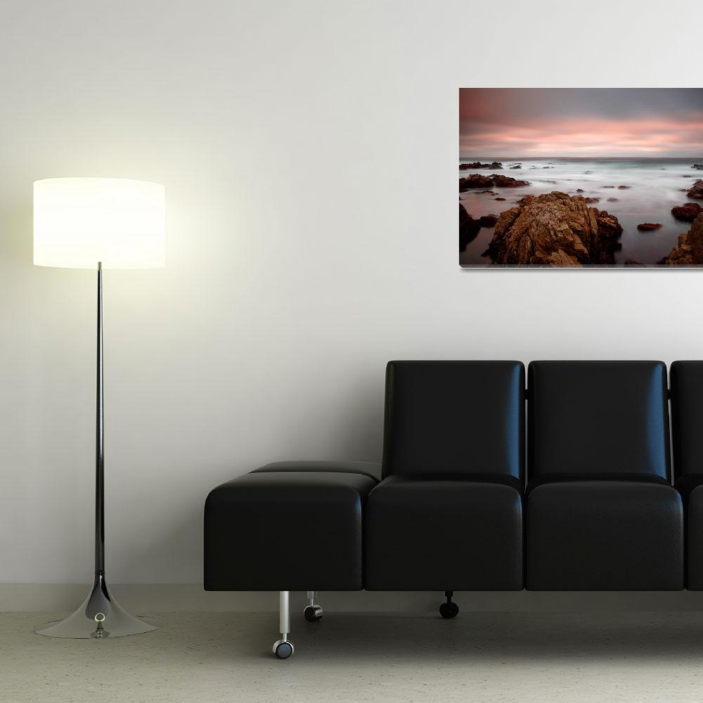 """""""65 seconds of sunset - ocean seascape&quot  (2007) by miir"""