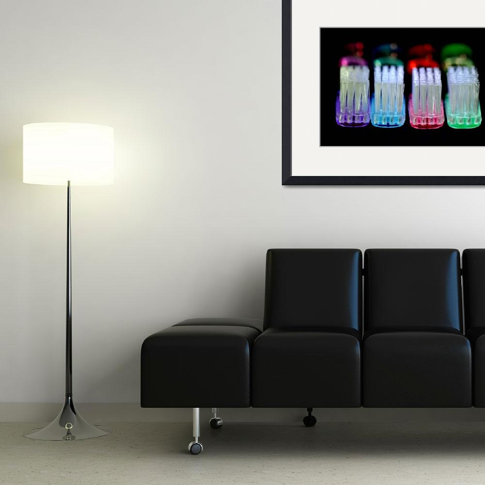 """""""Glowing Brushes&quot  (2009) by MisturPhotography"""