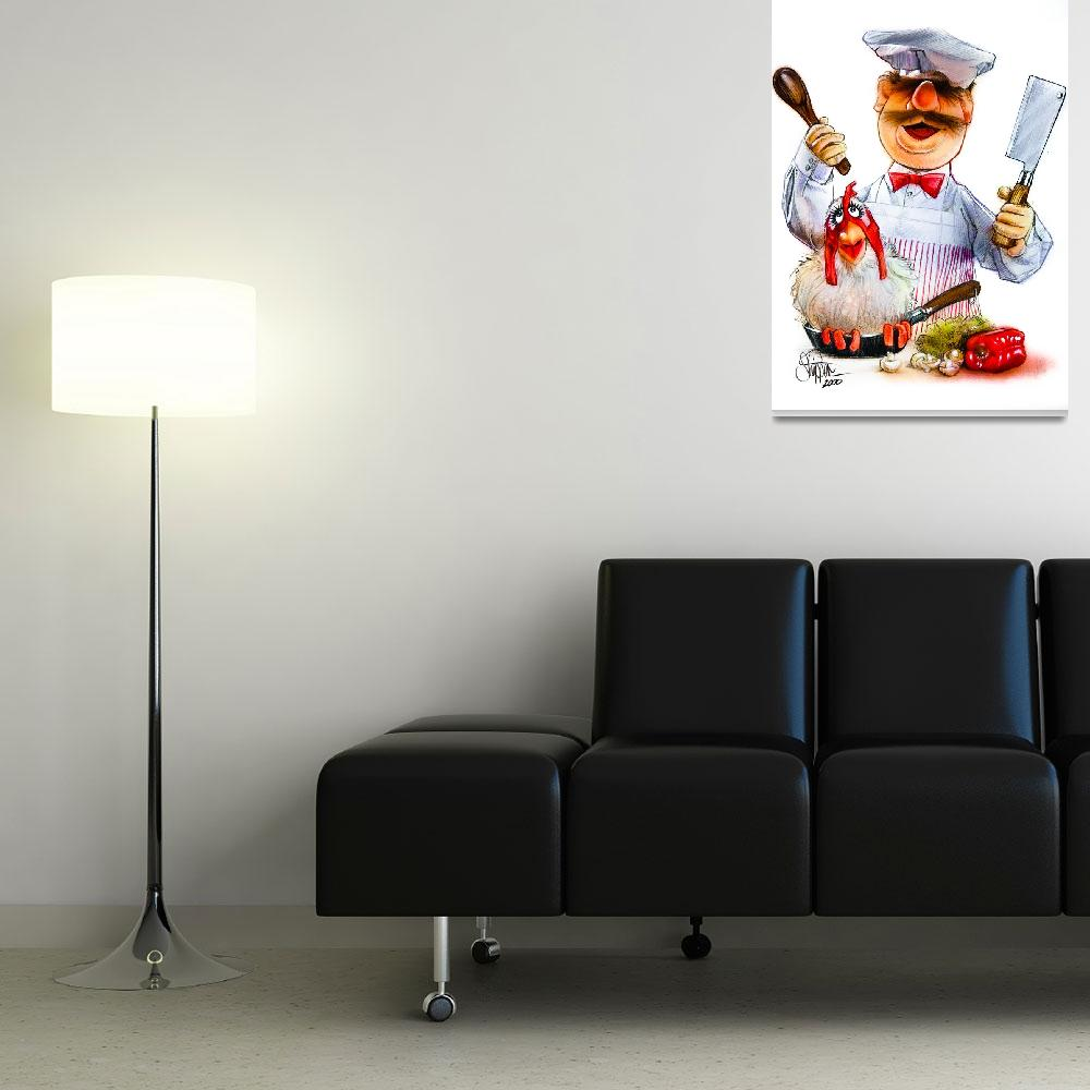 """Swedish Chef&quot  (2000) by paulshipper"