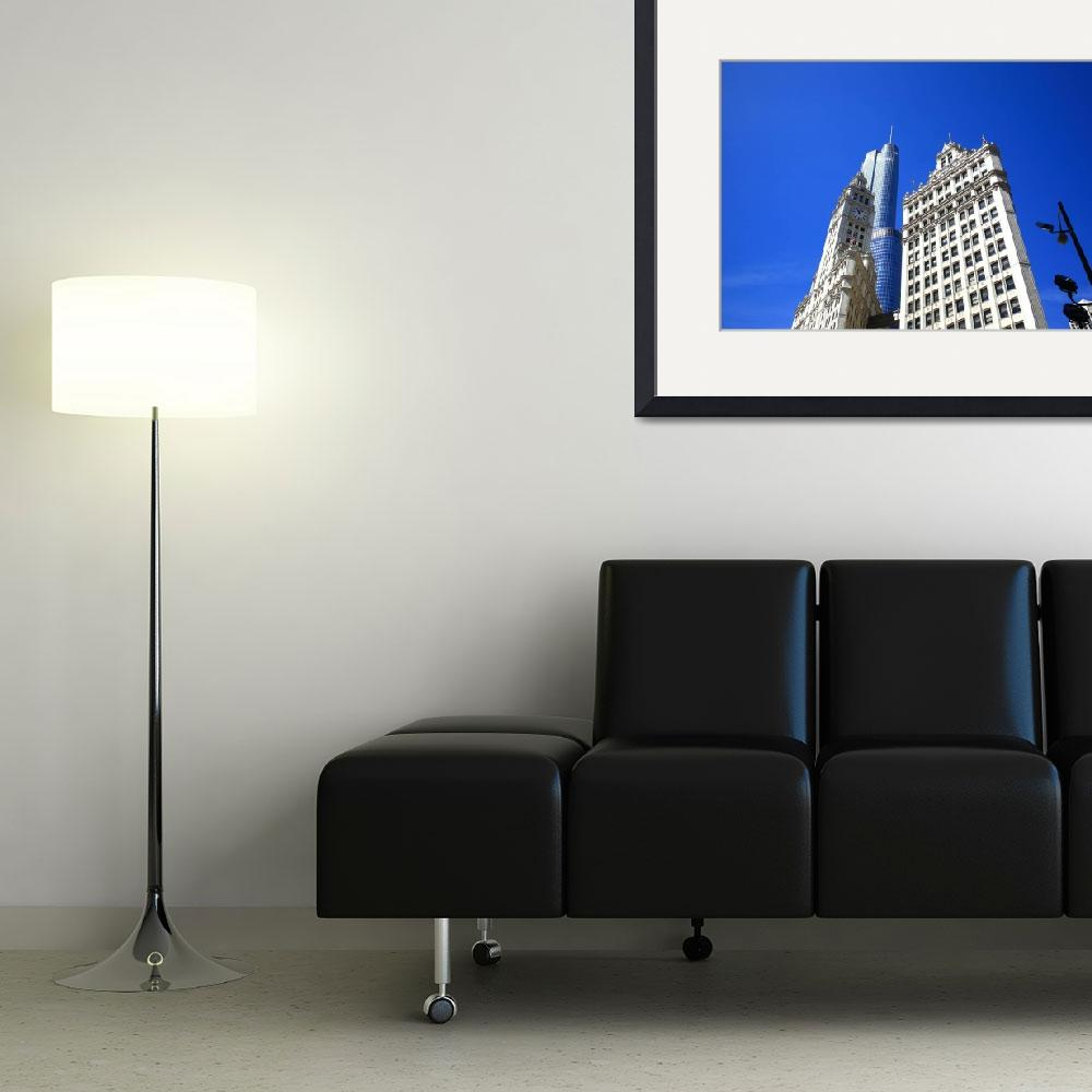 """""""Chicago Skyline 2010&quot  (2010) by Ffooter"""
