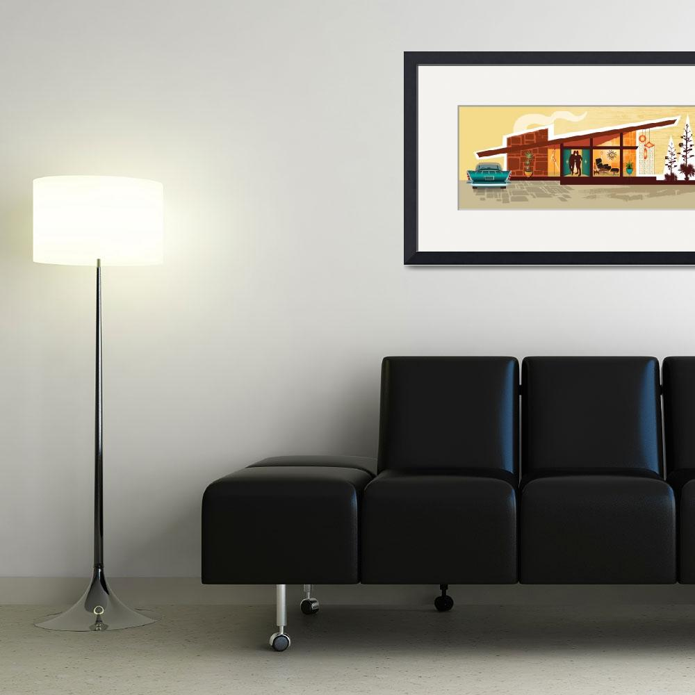 """Mid Century Modern House 