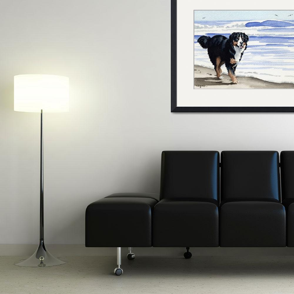 """""Bernese Mountain Dog""""  (2007) by k9artgallery"