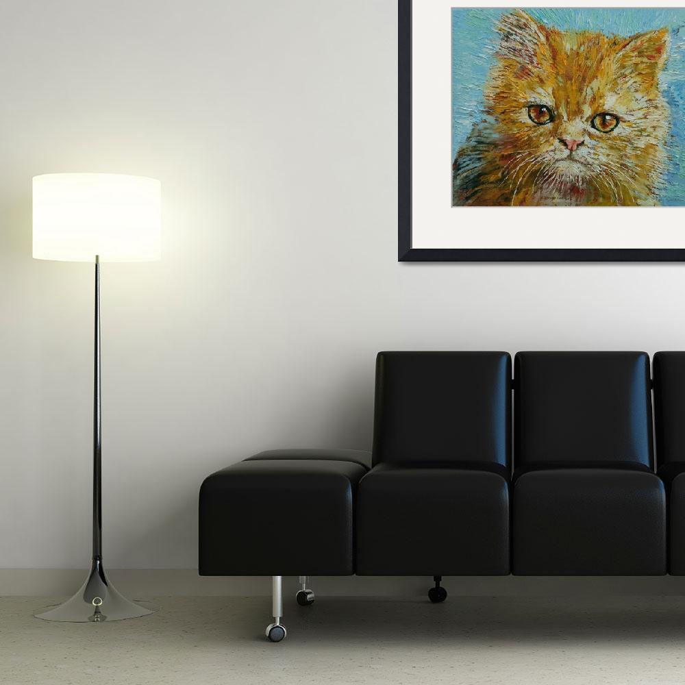 """""""Van Gogh the Kitten&quot  by creese"""