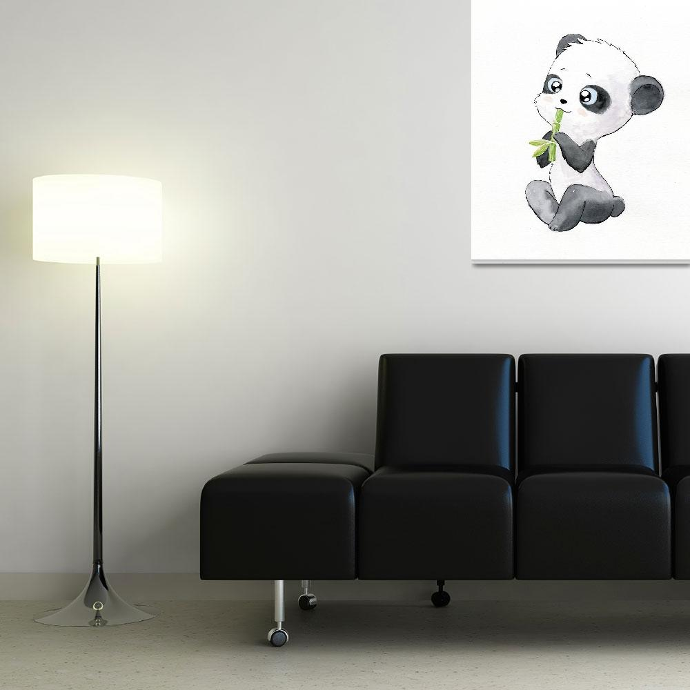 """Panda&quot  (2010) by freeminds"