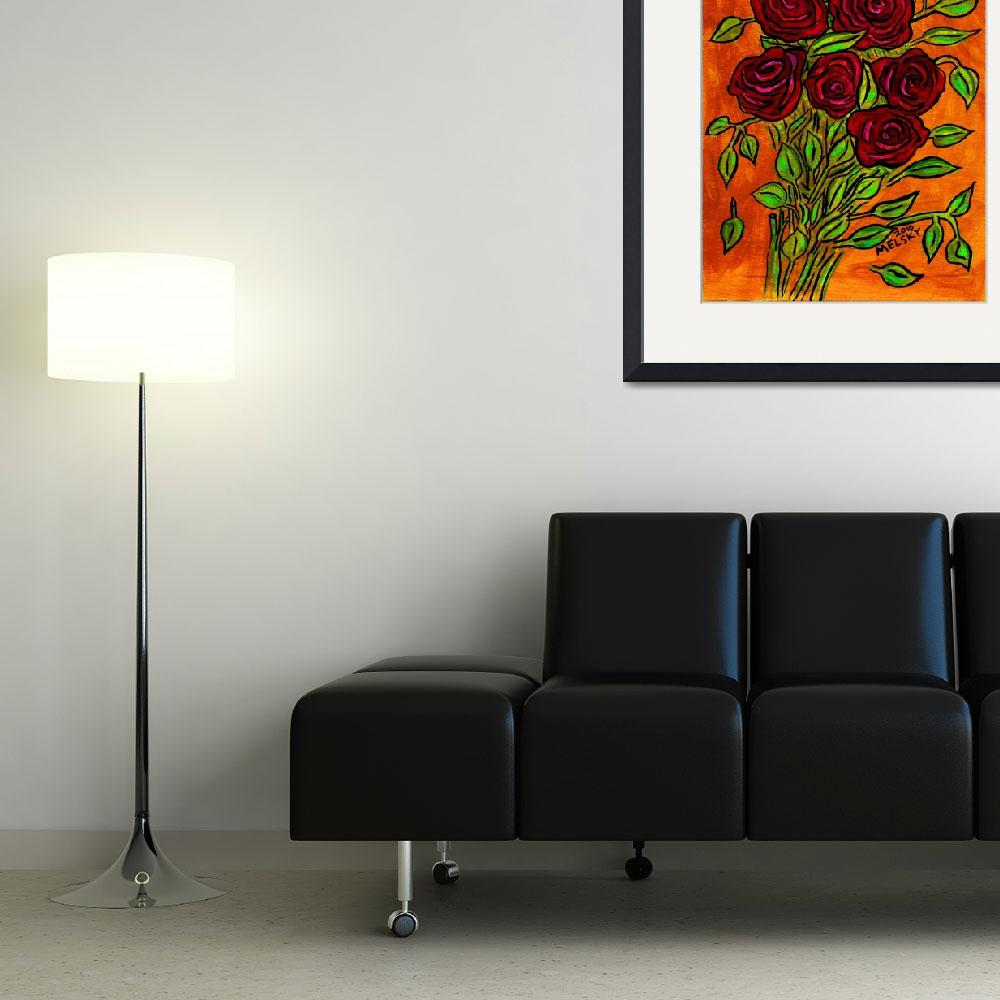 """""""Bright Roses""""  (2010) by melsky"""