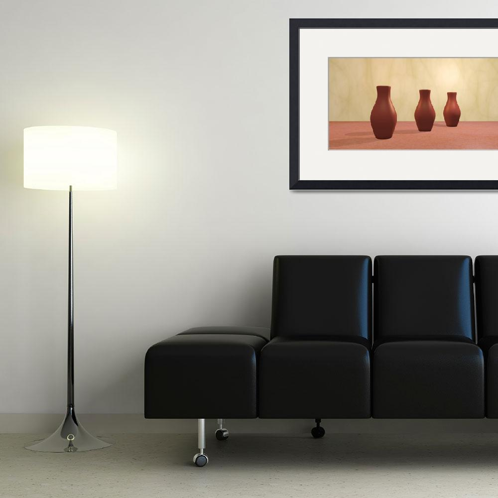"""Three Vases""  (2011) by gabiw"