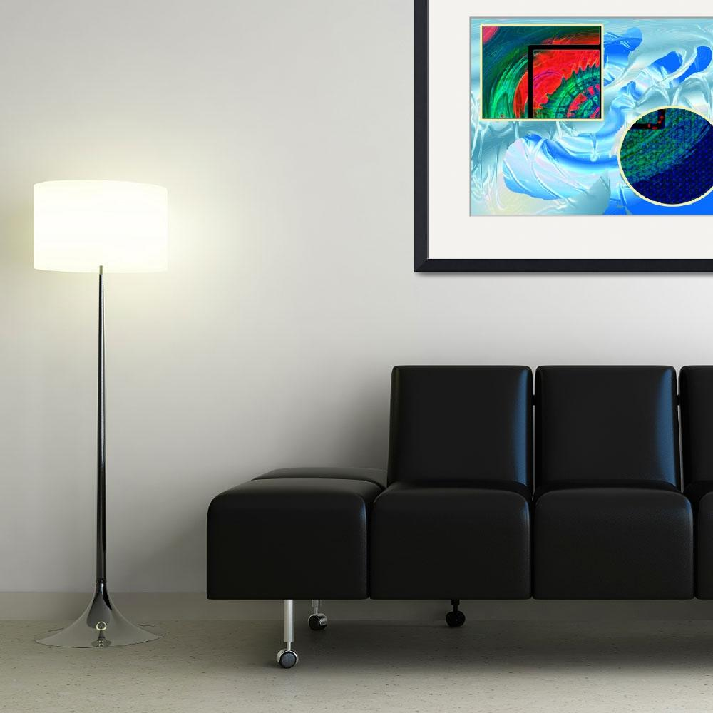 """Blue living Room&quot  (2011) by StudioAlex"
