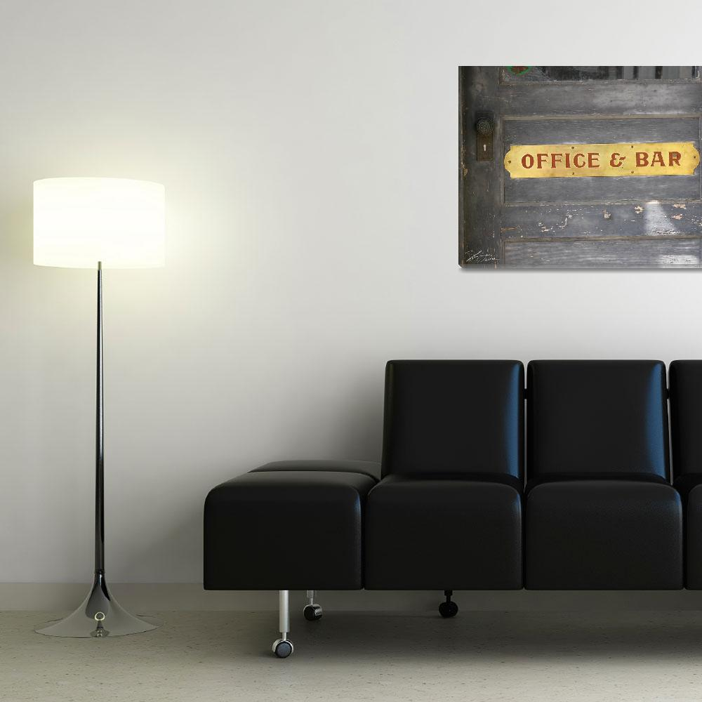 """""""Office and Bar&quot  (2009) by shariwarren"""
